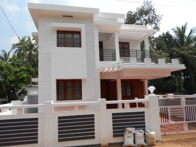 House Compound Wall Designs in Kerala images